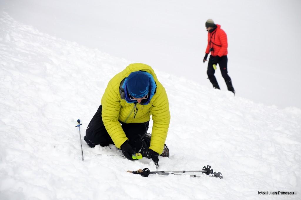 Întâlnire tehnică de iarnă 2015. Munții Ciucaș